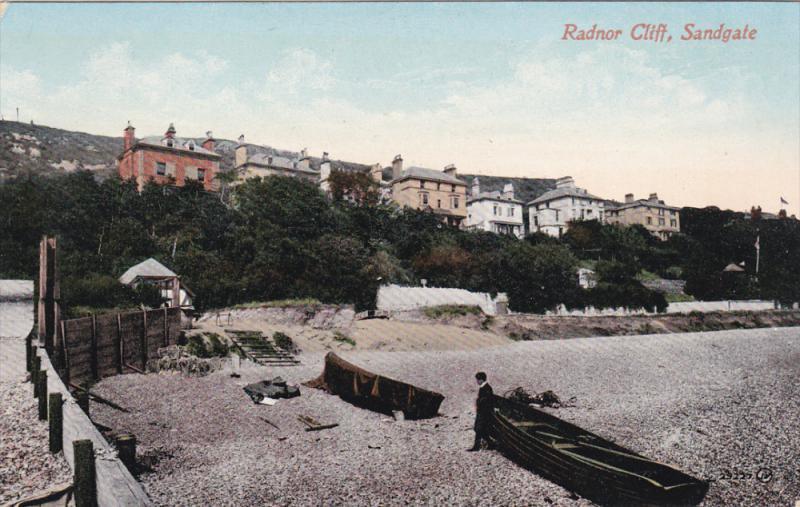 SANDGATE , Kent , England , 00-10s : Randor cliff