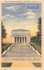 Hodgenville, KY, USA Lincoln National Memorial