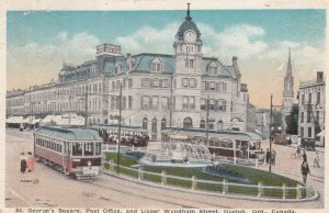 GUELPH , Ontario , Canada , 1919 ; St George's Square