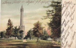 MILWAUKEE, Wisconsin, PU-1905; Water Tower And Park