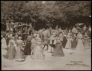 Austria 1908 Kaiser Franz Joseph Huldigungs Festival RPPC 94846