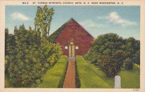 North Carolina Washington Saint Thomas Episcopal Church Bath Albertype