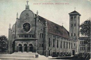 MARQUETTE , Michigan, 1900-10s ; Eglise St. Jean Baptiste