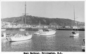 New Zealand Wellington Boat Harbour Boats Bateaux Port