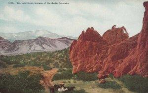 COLORADO SPRINGS, CO, 1900-10s ; Seal & Bear, Garden of the Gods