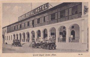 Grand Royal Hotel Aden Old Postcard