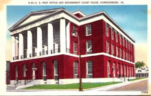 Virginia Harrisonburg Post Office and Government Court House