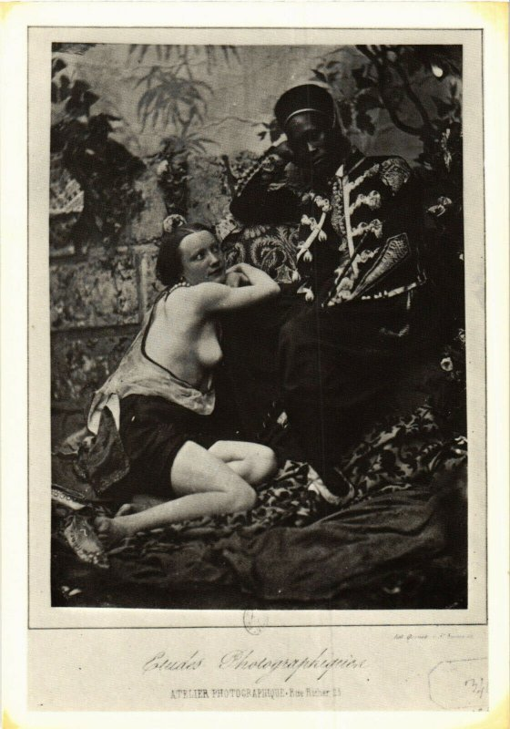 CPM ETUDE PHOTOGRAPHIQUE, BLACK AND WHITE PHOTO (d1777)