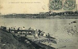 Bords De Seine Rowing Team Old Vintage Antique Postcard Post Cards  Bords De ...