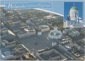 Helsinki, Suomi Finland, used Postcard