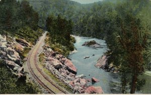 JOHNSON CITY , Tennessee, 1900-10s ; Through the Gorge on C.C.& O. Railroad #2
