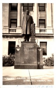 Missouri Bowling Green Champ Clark Monument 1958 Real Photo