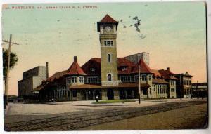 Grand Trunk RR Station, Portland ME