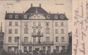 AARHUS, Denmark, 1906; Hotel Royal
