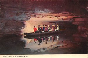 KY Postcard, Kentucky Post Card Echo River in Mammoth Cave Unused