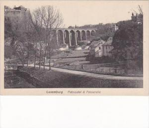 Luxemburg Petrusstal &  Passerelle