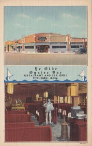Massachusetts Fitchburg Ye Olde Oyster Bar Restaurant & Sea Grill Curteich s7330