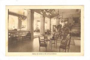 Splendide Hotel, Reading Parlor, Salons Du Lecture Et De Correspondance, Mars...