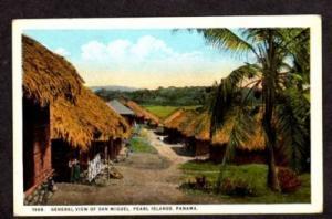 PANAMA Vintage Postcard San Miguel Rey Pearl Island PC