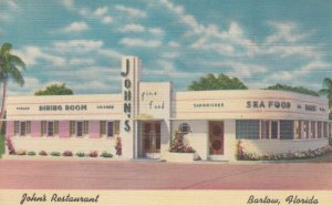 BARTOW, Florida, 1930-40s; John's Restaurant
