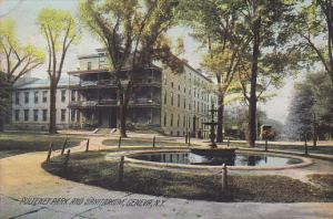 Scenic view,  Pulteney Park and Sanitarium,  Geneva,  New York,  PU_1908