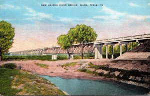 Texas Waco New Brazos River Bridge