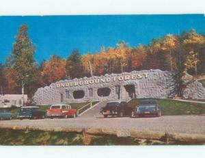 1950's TOURIST ATTRACTION Frederic - Near Gaylord & Traverse City MI E7574