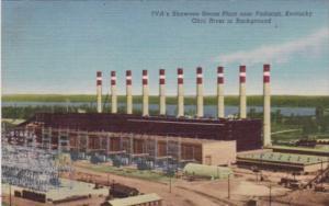 Kentucky Paducah TVA's Shawnee Steam Plant Curteich