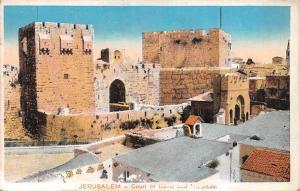 Israel Jerusalem - Court, Cour de Davis et Hippicus