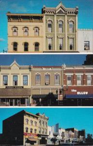 Kansas Ottawa Main Street's 200 Block Victorian Architecture