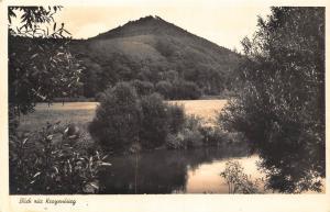 Germany Blick zur Kragenburg River Forest Postcard