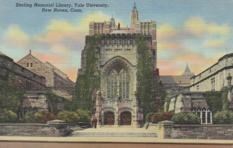 NEW HAVEN , Connecticut, 1930-40s ; Sterling Memorial Library - Yale University
