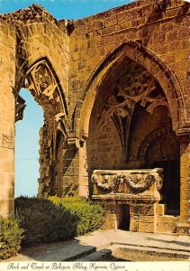 Cyprus Arch and Tomb at Bellapais Abbey Kyrenia