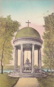 New York Auriesville Statue Of the Pieta Albertype