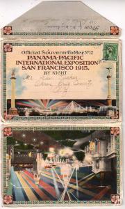 Folder - Panama California Expo, San Diego 1915