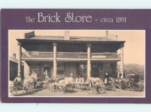 Unused Pre-1980 CIRCA 1891 BRICK STORE Bath New Hampshire NH hp0785