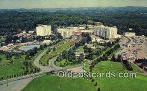 The Concord Hotel, Kiamesha Lake, NY, USA Motel Hotel 1968 postal used 1968