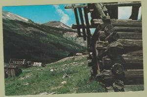 Ghost Town INDEPENDENCE Colorado Postcard