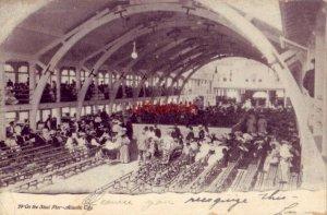 pre-1907 ON THE STEEL PIER - ATLANTIC CITY 1906