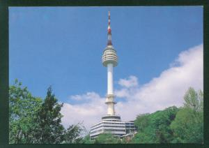 Seoul Tower on Mt. Namsan South Korea Vintage Korean Postcard
