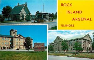 Rock Island IL~1865 Artillery Repair Station~US Army Corps of Engineers~1960s