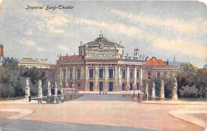 Austria Imperial Burg Theater  Imperial Burg Theater