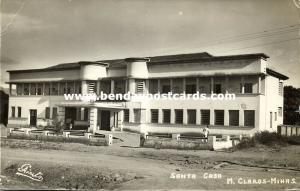 brazil, MONTES CLAROS, Minas Gerais, Santa Casa (1950s) RPPC, Stamps