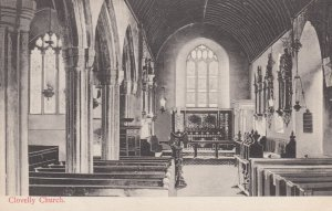 CLOVELLY, Devon, England, 1900-10s ; Church Interior