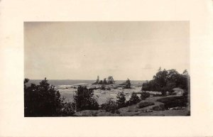 Go Home Ontario Canada panoramic view of town real photo pc ZC549367