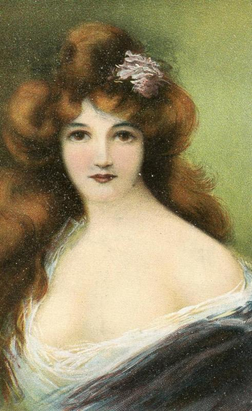Brunette Lady   *Artist Signed: Asti
