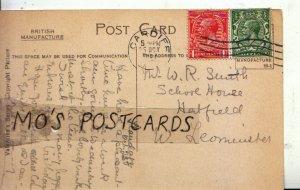 Genealogy Postcard - Smith - School House - Hatfield - W Leominster - Ref 121B
