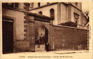 CPA LYON-Pensionnat des Lazaristes Entrée du Pensionnat (427233)