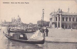 Italy Venezzia Molo dal Rio della Paglia