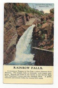 MANITOU, Colorado, 1900-10s; Rainbow Falls, Ute Pass